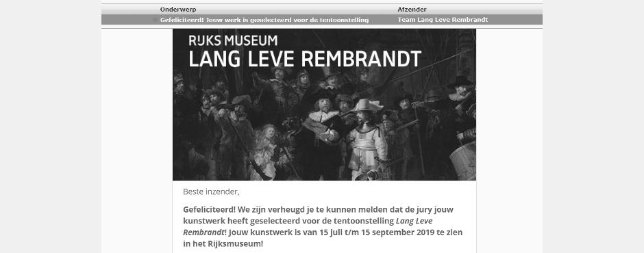 2 Slide mail Rijksmuseum
